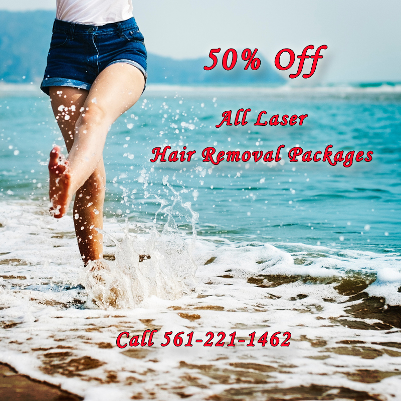 Discount on Laser Hair Removal