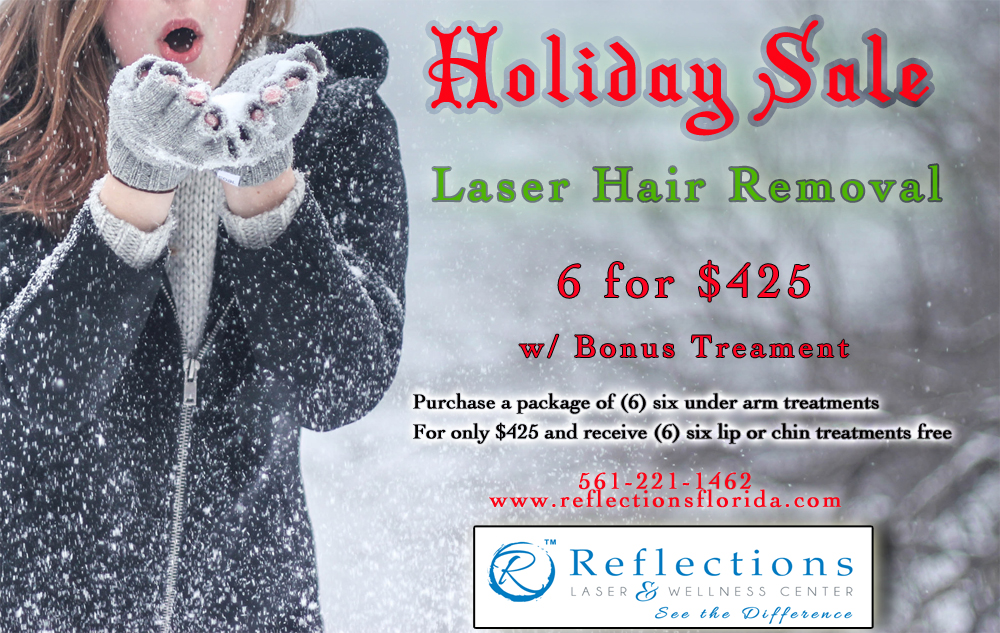 Holiday Sales Laser Hair Removal